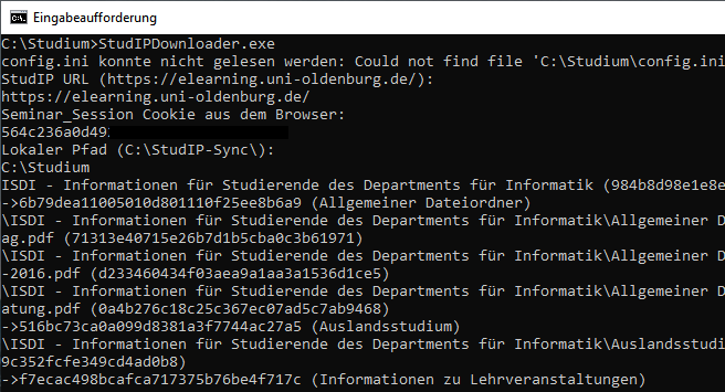 StudIP Downloader